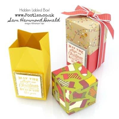 Night Before Christmas Hidden Lidded Box