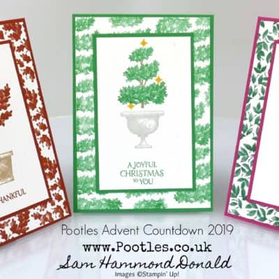 Pootles Advent Countdown 2019 #15 Team Training Beauty and Joy Cards