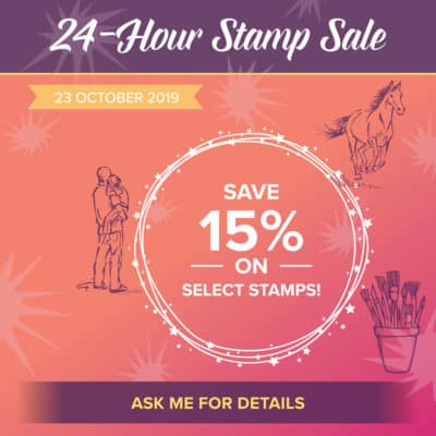 24 Hour Stampin' Up! Sale coming Wednesday