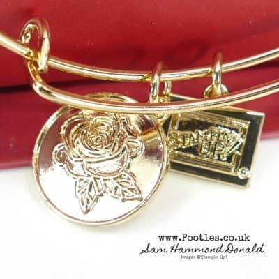A Charming Rose Bracelet Gift