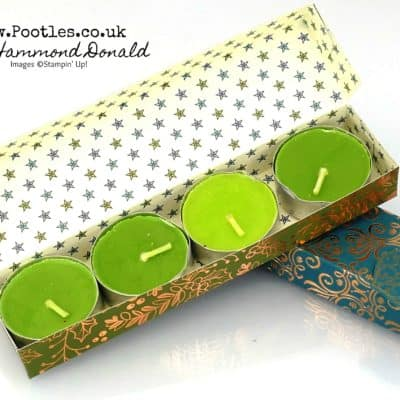 Brightly Gleaming Tealight Box Tutorial