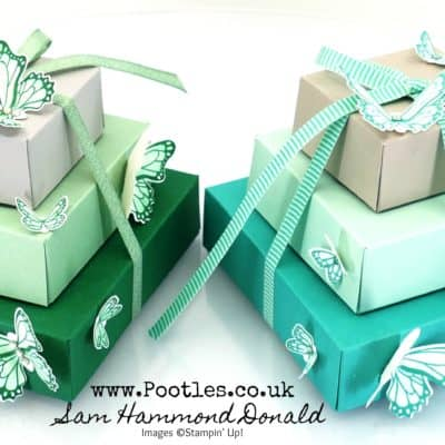 Stampin' Up! Butterfly Gala Stack of Boxes