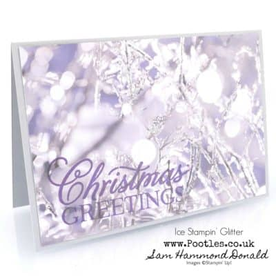 First Frost and Ice Glitter is the Greatest Part of Christmas…