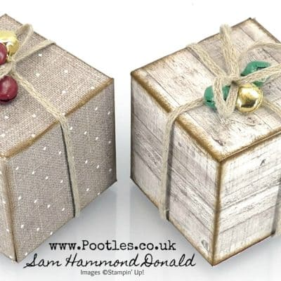 Gather Together Cube Ornament Tutorial