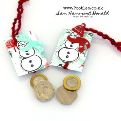 Let It Snow Carollers Coin Treats