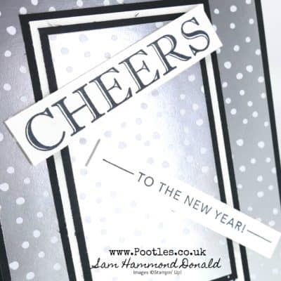Cheers To That New Year Card Idea