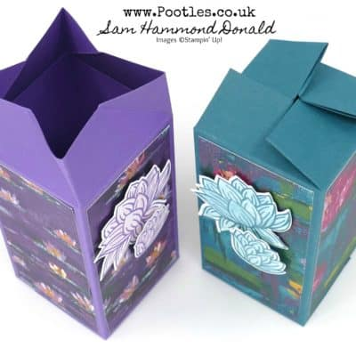 Lovely Lily Pad Sale a Bration Twist N Close Box