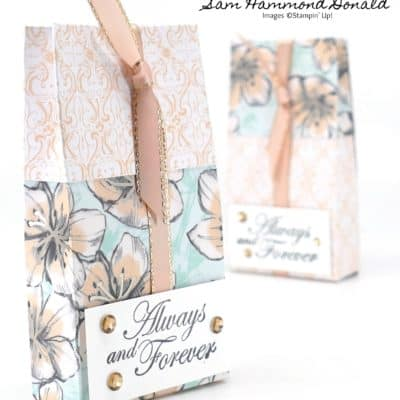Springwatch 2020 #14 Parisian Blossoms Tiny Favour Bag