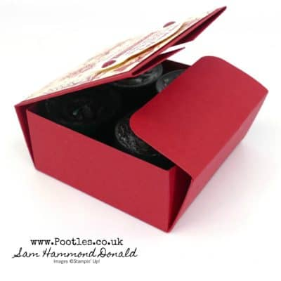 Tuck n Fold Yankee Candle Tea Light Box Tutorial