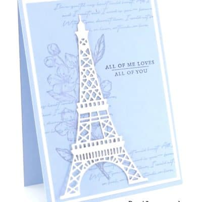 Forever Parisian Blossoms. In Blue!