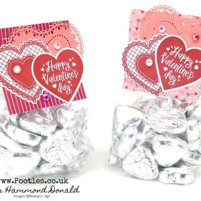 Heart To Heart Chocolate Heart Treat Bags
