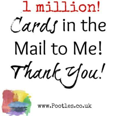 Cards in the Mail to Me for 1 Million, Thank You!