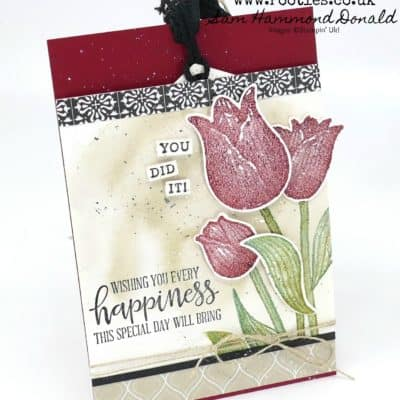 Beautiful Cherry Cobbler 1 Million Cards and Tags Inspiration
