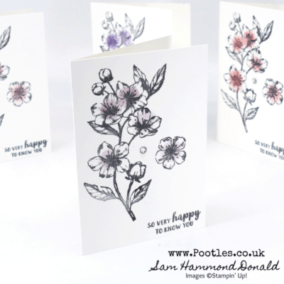 Forever Blossoms Customer Thank You Cards