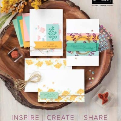 Who wants a free copy of the New 2020 Annual Stampin' Up! Catalogue?