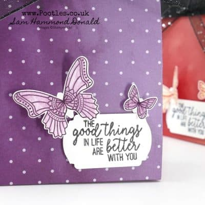 A Simple Striking Peaceful Poppies Paper Bag Tutorial