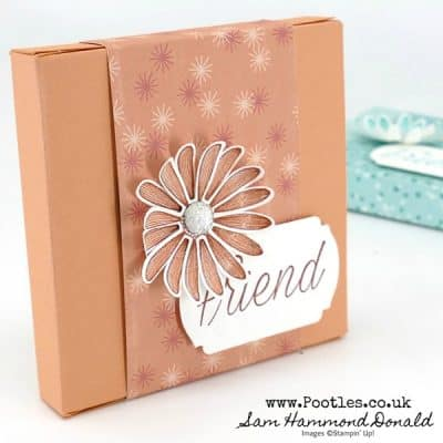Birthday Bonanza Daisy Skinny Box Tutorial