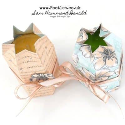 Hexagonal Tea Light Gift Tutorial