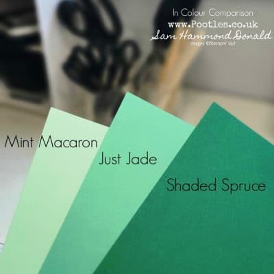 New Stampin' Up! In Colour Comparisons