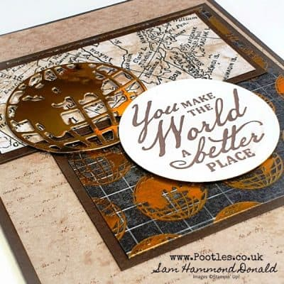 World of Good Layered Masculine Card Idea