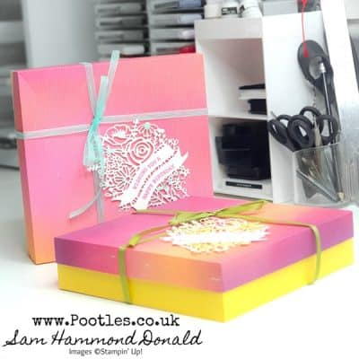 Colour Challenge Box Tutorial using Artistry Blooms