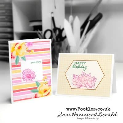 Four Season Floral Card Kit Showcase