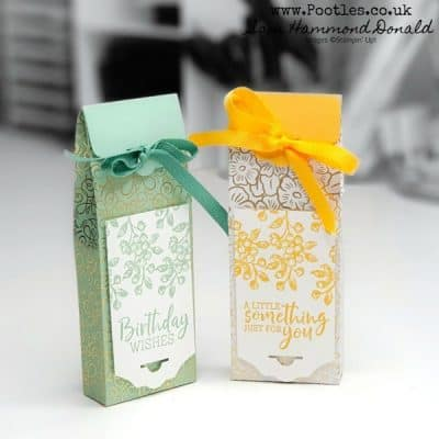 Ornate Garden Elegant Favour Bag Tutorial using Fancy Phrases