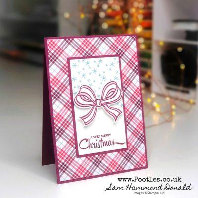 Gift Wrapped Plaid Tidings. So pretty!