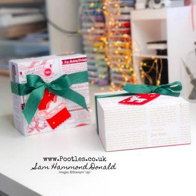 How To Make An Easy Huge Lidded Christmas Box
