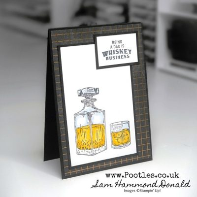 Whiskey Business Blends Alcohol Marker Card