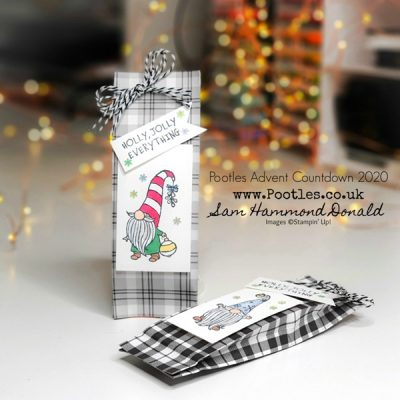 Pootles Advent Countdown 2020 How To Make a No Cut, No Score Chocolate Pouch