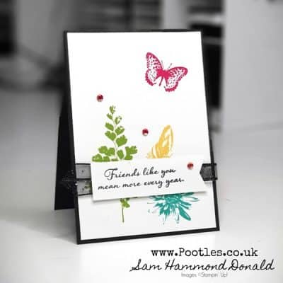 A Bright Pick You Up Card with Positive Thoughts