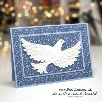 A Simple and Elegant Dove Of Hope Card