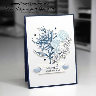 Stunningly Detailed Floral Card using Flowering Blooms