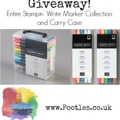 Huge and Amazing Stampin' Write Markers Giveaway