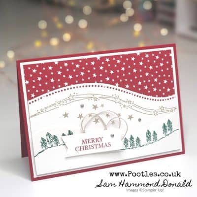 A Curvy Classic Christmas Card Tutorial
