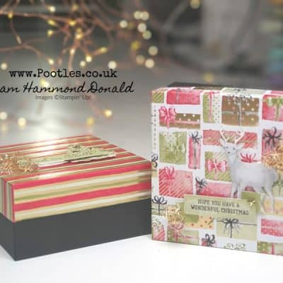 A Most Wonderful Lidded Gift Box
