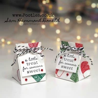 Super Mini Tree Triangle Treat Box