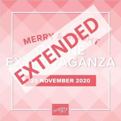 Stampin' Up! Online Extravaganza Extension is Ending SOON!