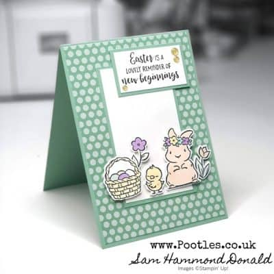 Springtime Joy Fussy Cut Card with Blends Colouring