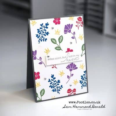 Lovely You Card in Pretty Bright Colours
