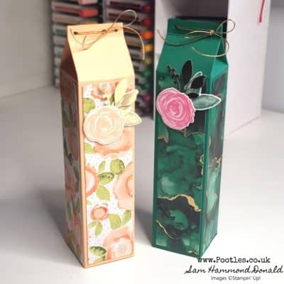 How to Make a Very Stylish Box with Expressions in Ink