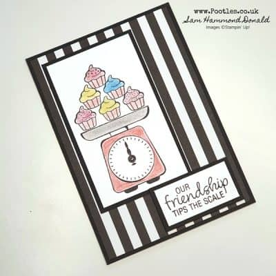 Measure of Love Friendship Card Idea