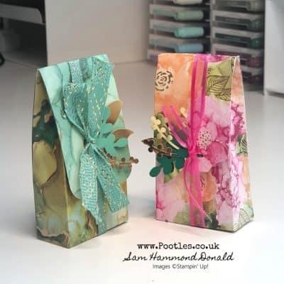 Mini Fold Over Gift Bag Tutorial