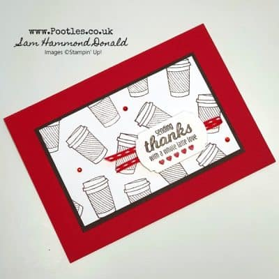 Quick Coffee Card with Brew Some Fun