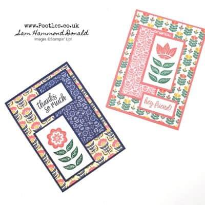 Sweet Symmetry, Simple Layered Card Idea