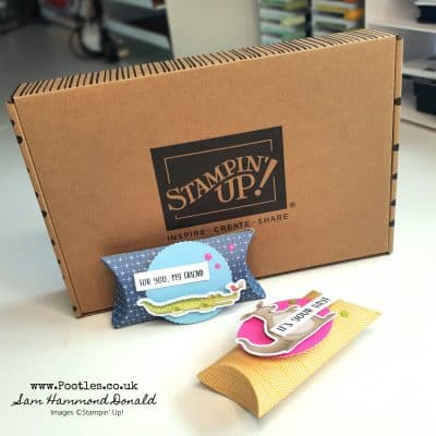 My 2nd Stampin' Up! Kit Opening and Making!