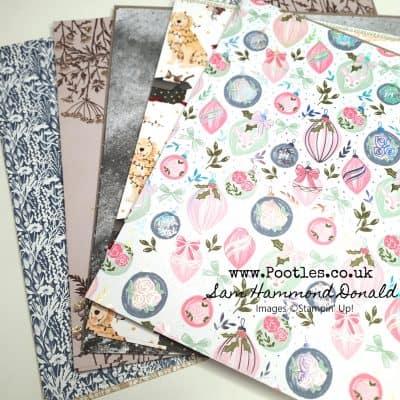 Stampin Up Mini Catalogue Paper Showcase