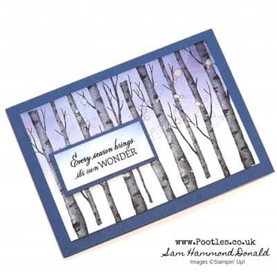 Welcoming Woods Sneak Peek Simple Card Idea