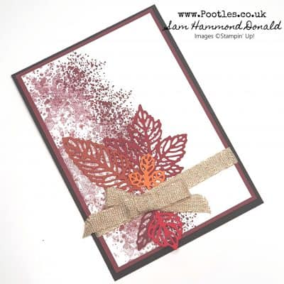 Intricate Leaves Dies with Gorgeous Speckles!